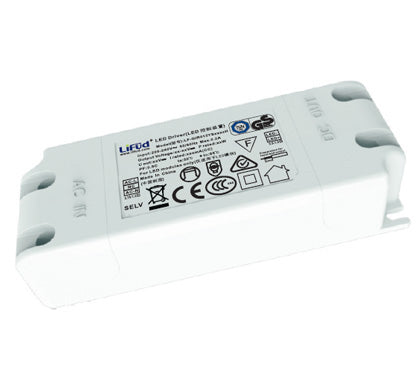 Lifud 42W 1000mA Flicker Free Non Dimmable LED Driver - 5 Year Warranty