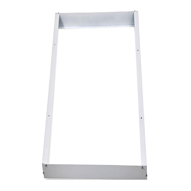 White 1200X600 Surface Mounted LED Panel Frame