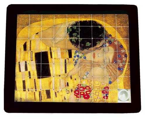 Joc logic The kiss, Klimt