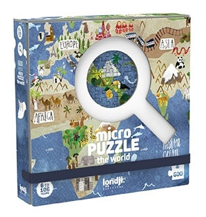 Micro puzzle Londji-600 piese, continente