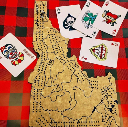 Idaho Cribbage Board
