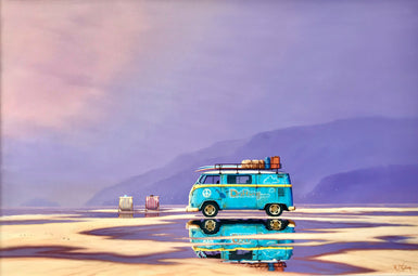 Drifting and Dreaming - Blue Kombi