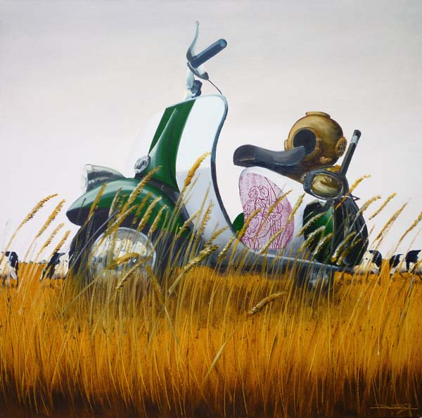The Divers Vespa