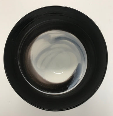 39. James McMurtrie Small Black and White Bowl