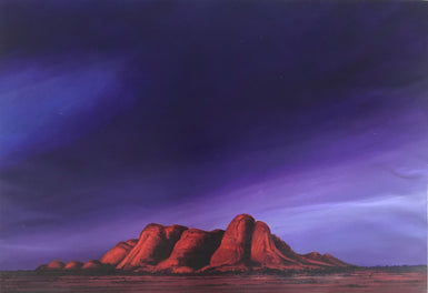 Kevin Orpin - Approaching Storm Olgas