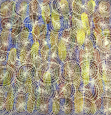 Audrey Kngwarreye Morton - AM 1302 -11 Honey Ant Dreaming