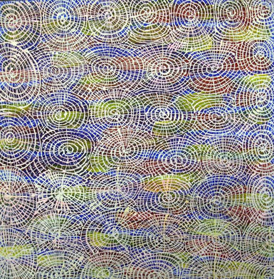 Audrey Kngwarreye Morton AM 1304-11 Honey Ant Dreaming