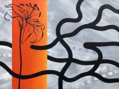 Tiger-Lily - SELECTED FOR CAMBERWELL ART SHOW