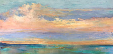 Catherine Hamilton - A Winter Sky SOLD