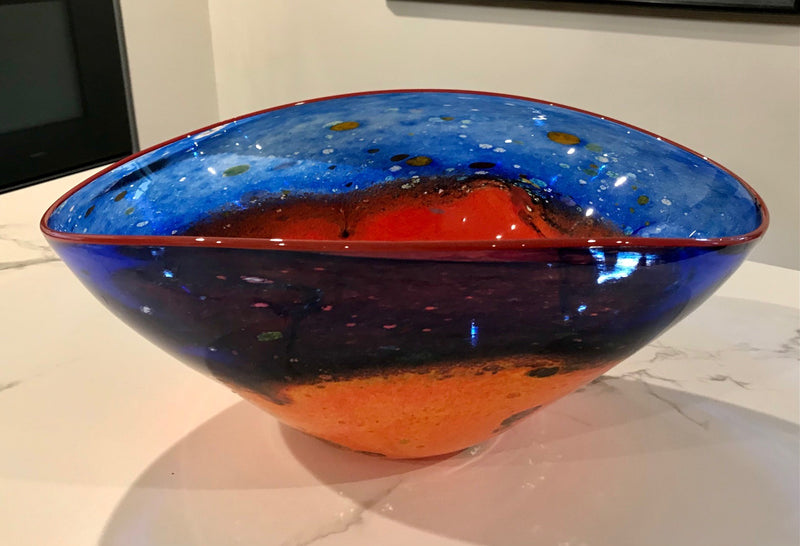 D7 Outback Series  - Oblong Bowl