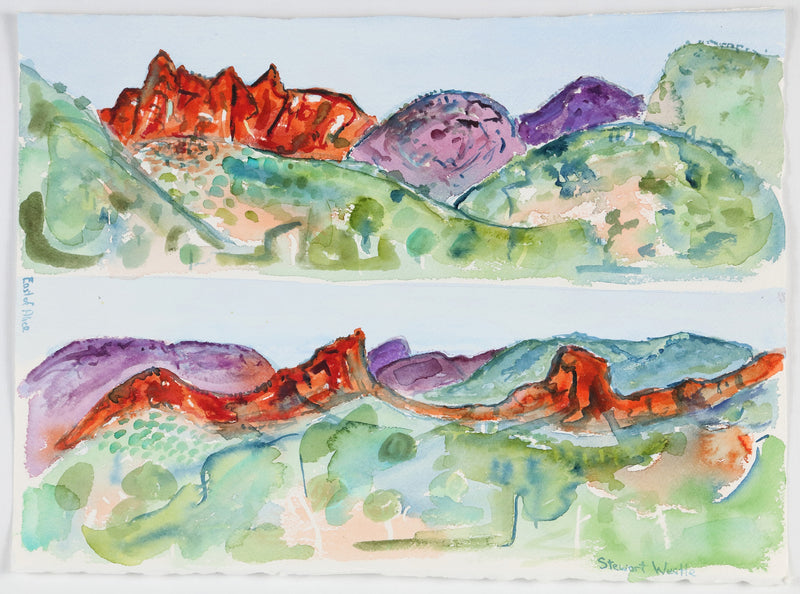 Stewart Westle - East of Alice Springs