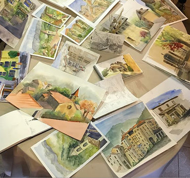 En Plein Air Paintings