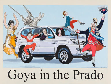 Goya in the Prado - SOLD