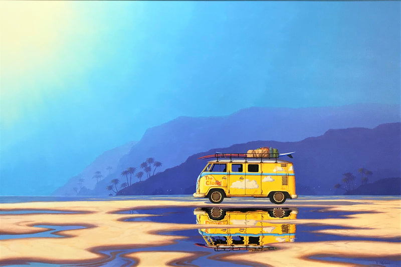 Richard Kulma - Halcyon Days - Yellow Kombi   SOLD