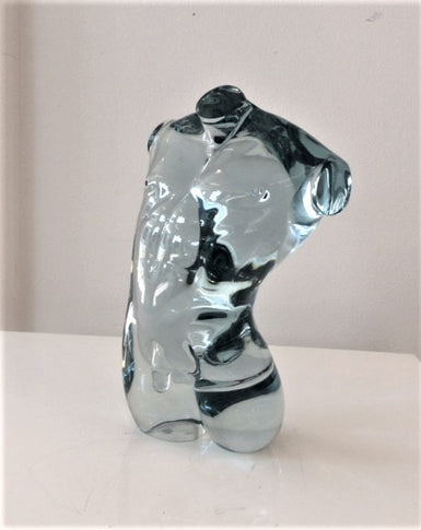 Male Torso - Clear Blue   SOLD