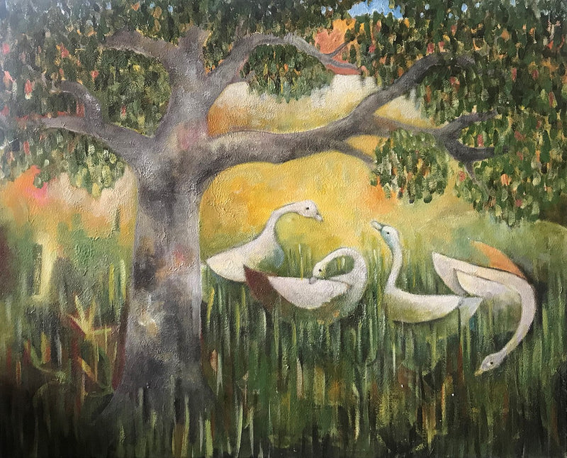Pete Groves - Tree with Geese