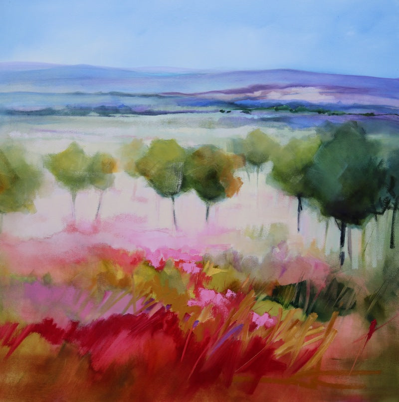 Spring Flowers in the Landscape - SOLD