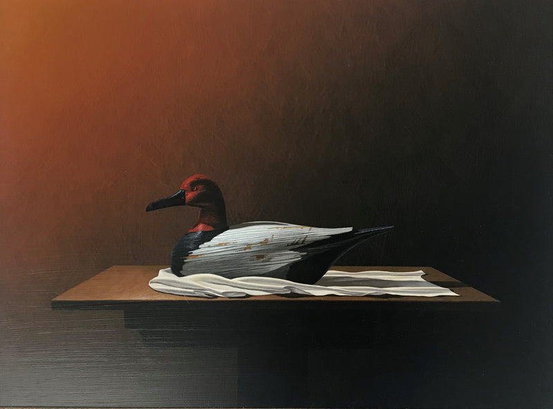 Steve Harris - Wooden Decoy Duck 1994