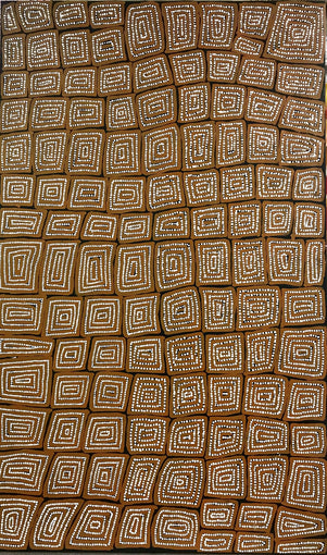 Thomas Tjapaltjarri TTY 1401-8 Tingari Cycle - SELECTED FOR CAMBERWELL ART SHOW