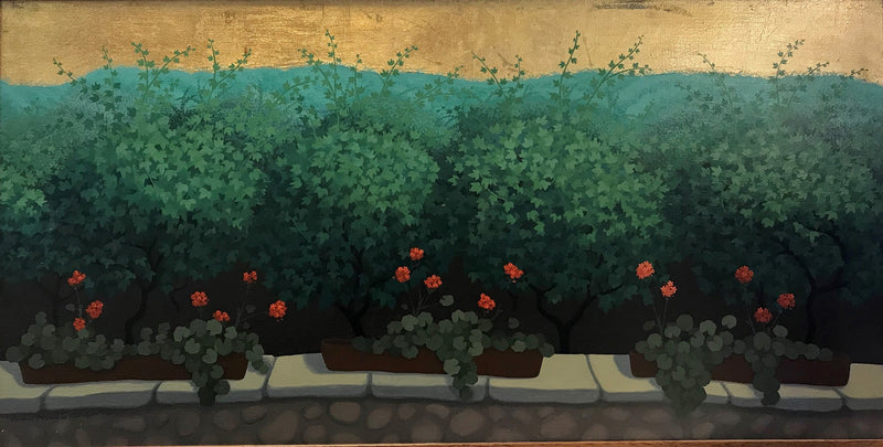 Vineyard with Geraniums 1999