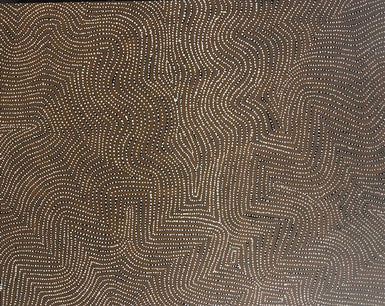 Warlimpirrnga Tjapaltjarri - TWAT 603 Tingari Cycle Western Desert - SELECTED FOR CAMBERWELL ART SHOW