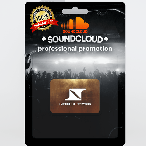 Small Real and Organic Soundcloud Promotion