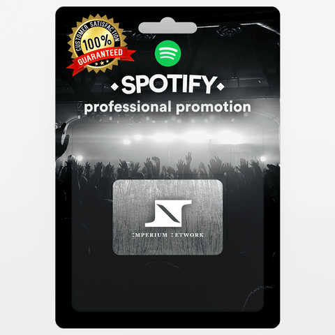 Medium Real and Organic Spotify Promotion