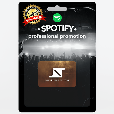 Small Real and Organic Spotify Promotion