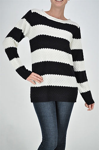 SW YAN 80124 SCOOP NECK SWEATER