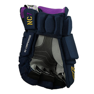 NC7 - No Compromise, MFG Hockey Glove - Navy Gold