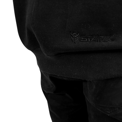 STÄRK ALL DAY CREWNECK – TONAL BLACK