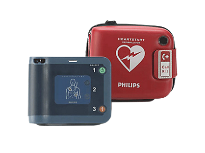 Automatic External Defibrillator (AED) - Phillips FRx Heartstart