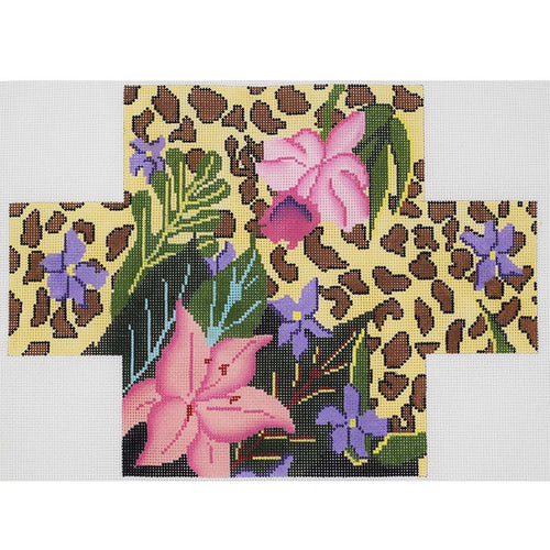 Floral/leopard Brick Cover
