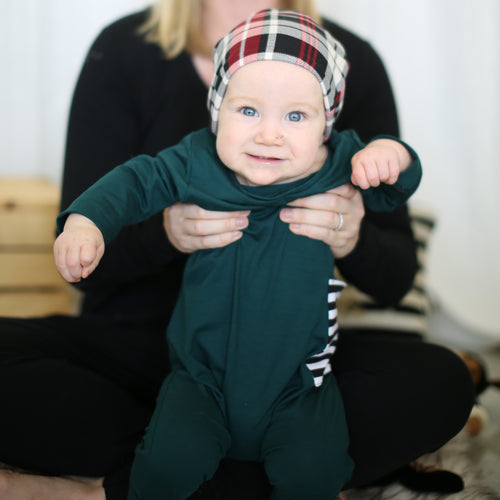 Holiday Kids Evergreen Romper
