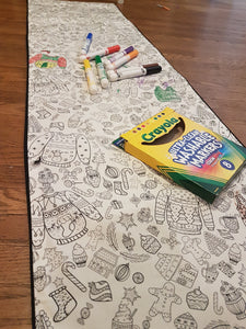 Scribble Table Runner