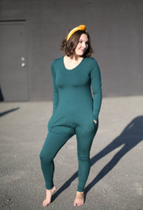 Ladies Evergreen Romper