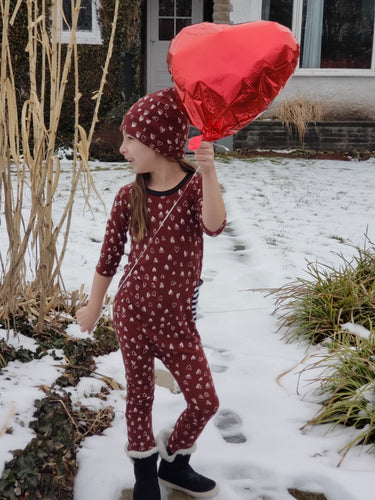 Kids Heart Romper