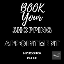 Book your Shopping Appointment