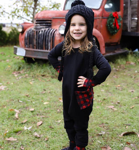 Holiday Kidboss Romper