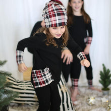 Preorder- Holiday Kids Plaid Romper