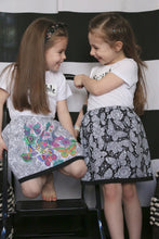 Black Butterfly Scribble Skirt Kit