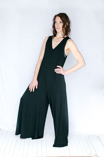 Wide Leg Romper (PANT length)