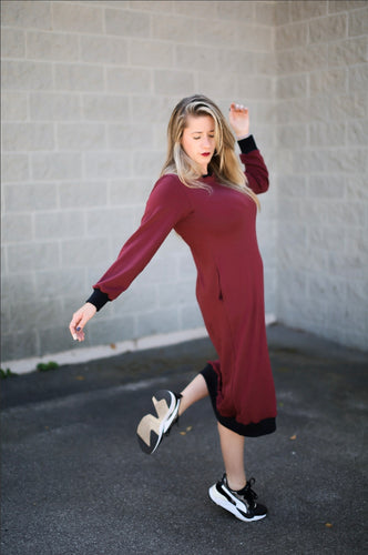 Wine Weekender Dress