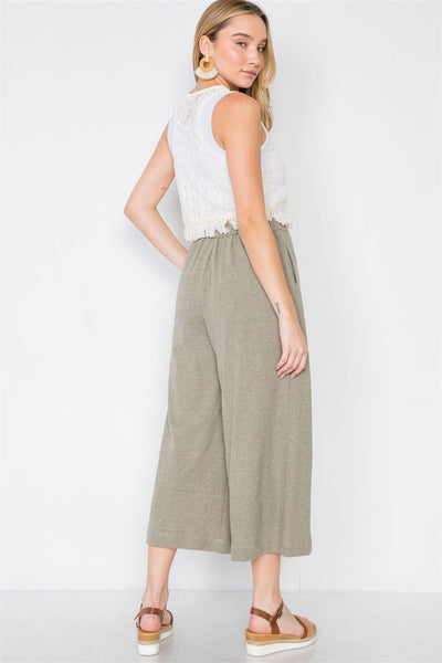 High-waist Wide Leg Pants