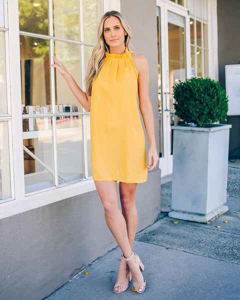 Lemon - Vintage Yellow Dress