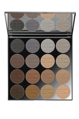 I LOVE EYEBROWS 16er Palette by Tanja M. Copertino