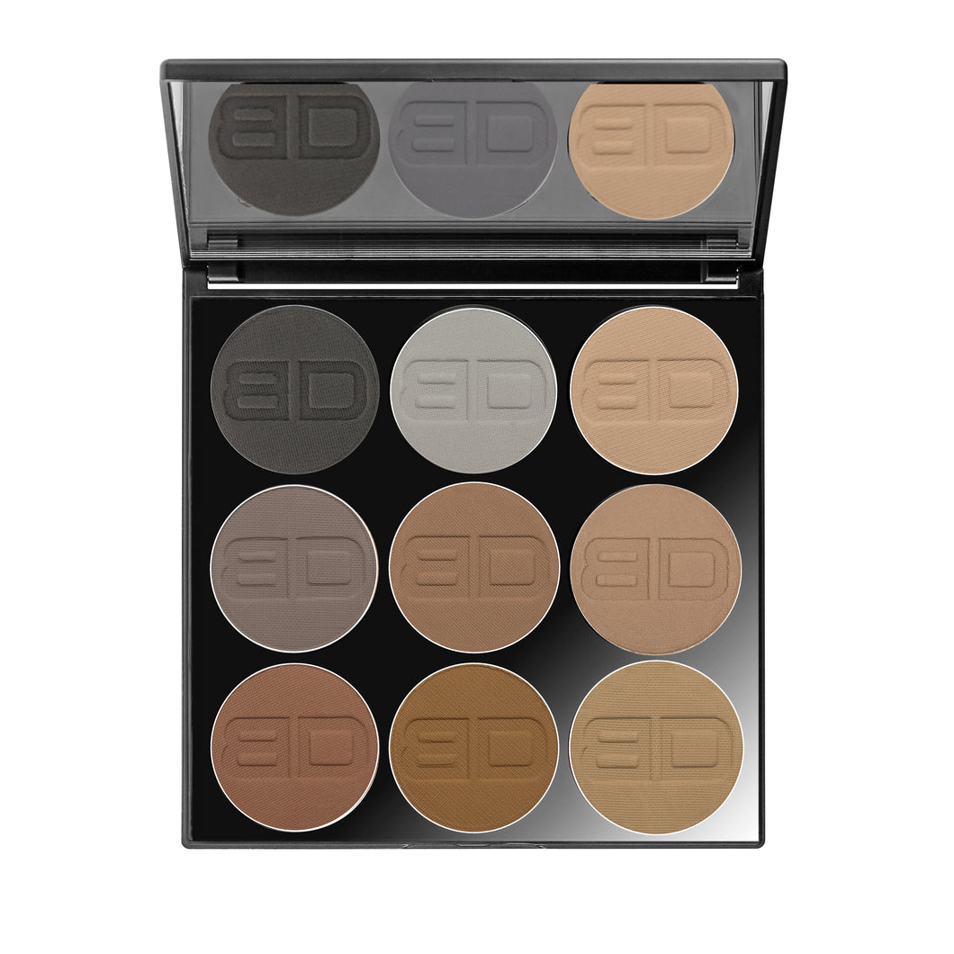 I LOVE EYEBROWS 9er Palette by Tanja M. Copertino
