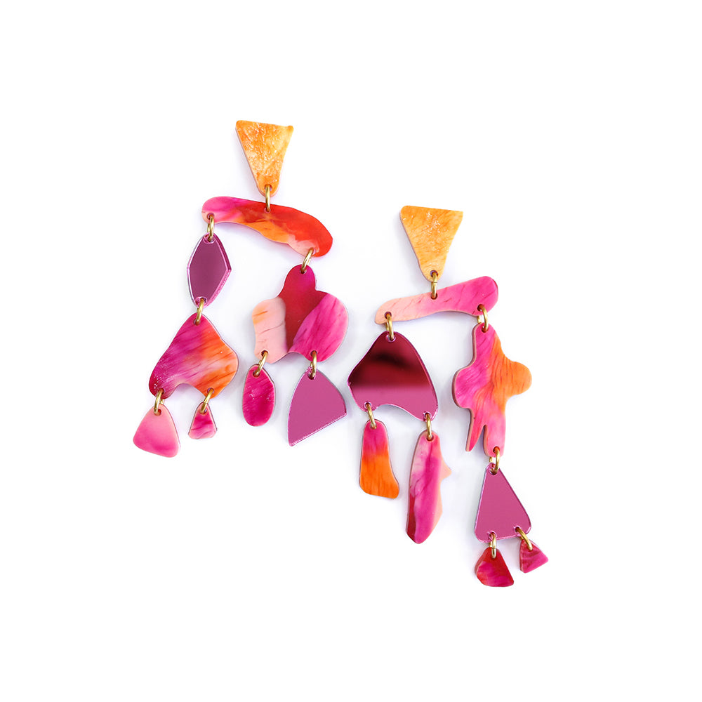 coral chime | pink and orange