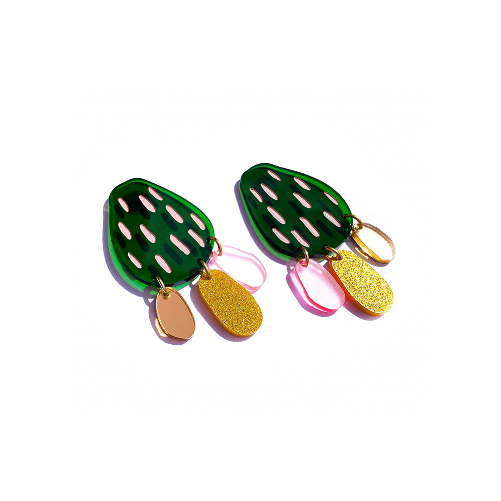 prickly pear party stud