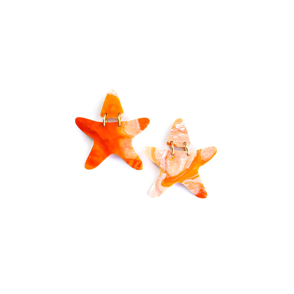 starfish oh my | midi | orange